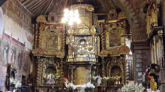 Chinchero, Perú: Igreja de Chichero