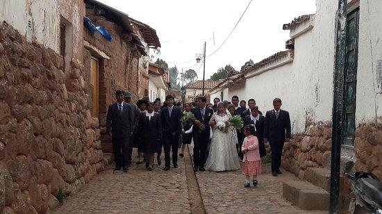 Chinchero, Perú: Chichero - Casamento Tipico