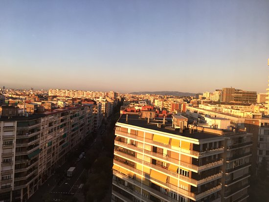 Melia Barcelona Sarria: panorama dal 14° piano