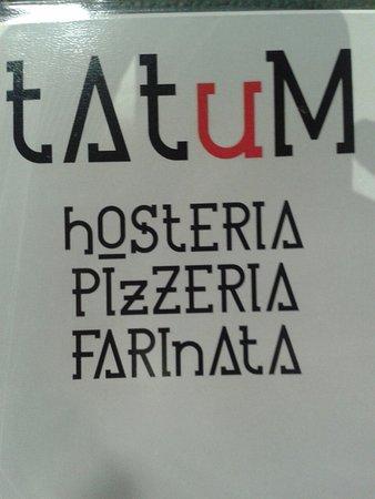 Кассине, Италия: copertina menù ...da scoprire...
