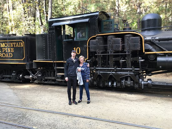 Fish Camp, CA: This is the Mountain Sugar Pine Train