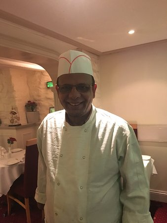 The Spice Well: Mr Taklus - a brilliant chef of the finest Indian cuisine. Seriously - the freshest ingredients,