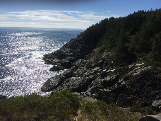 Monhegan Island, ME: View from the headlands of Monhegan
