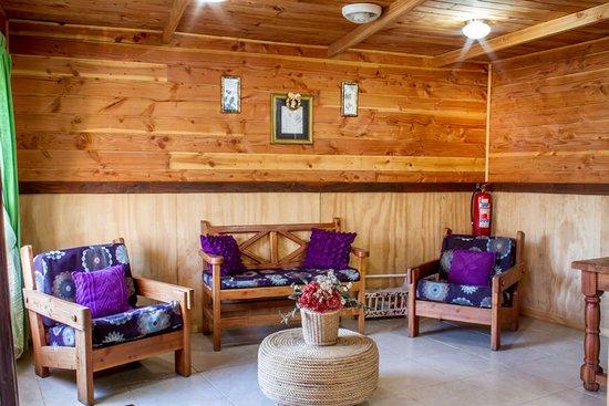Hostel Pucon Sur: Sala recepción