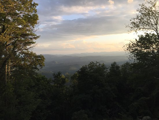 "The Blowing Rock: A ""Must See"" when visiting Boone, NC.   Not only is the history behind this fantastic, but at th"