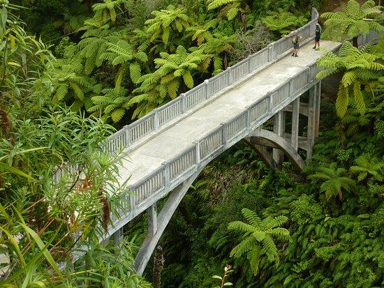 Pipiriki, Νέα Ζηλανδία: The Bridge to Nowhere
