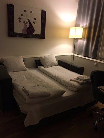 Ibis Styles Stockholm Jarva: Sofa/bed