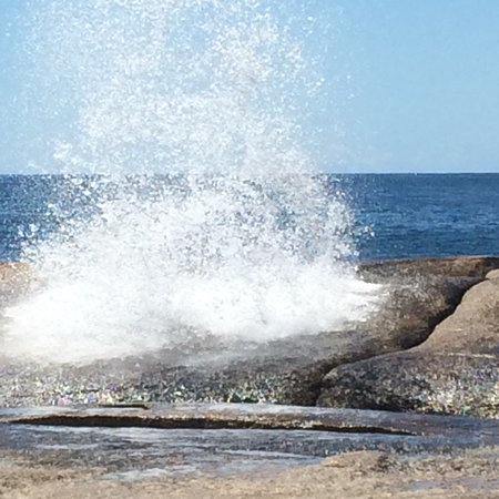The Bicheno Blowhole