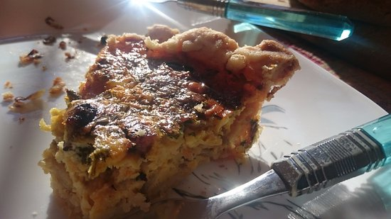 Jamaica, Вермонт: Made from scratch quiche (everything from the lard in the crust to the eggs they harvest)