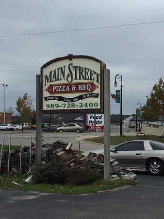 Hale, MI: Main Street Pizzeria & BBQ