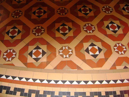 California State Capitol and Museum: Some detail of some of the flooring.