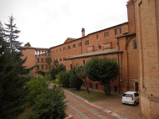 Asciano, Italien: Il monastero