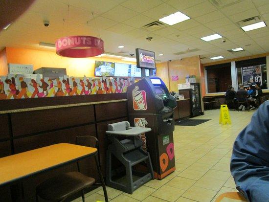 Cranston, Rhode Island: Dunkin Donuts in Cranston, Rhode Island.