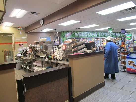 Cranston, RI: That is me walking around Dunkin Donuts.