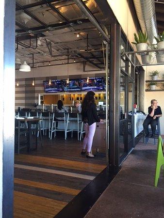 Indoor/Outdoor bar