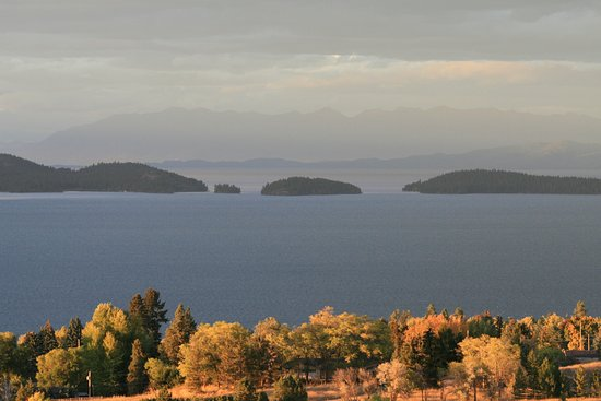 Polson, MT: Autumn 2016 overlooking Flathead Lake.