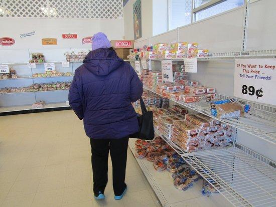 Rumford, RI: That is me inside Entenmann's Bakery.