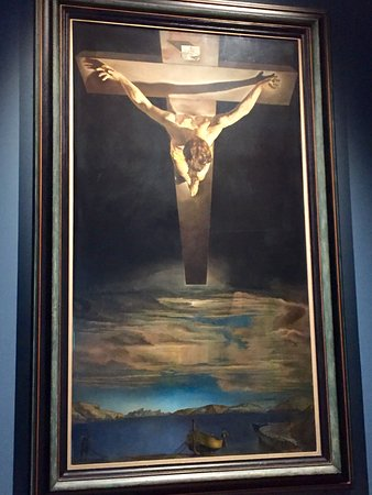 Kelvingrove Art Gallery and Museum: Christ of St. John of The Cross