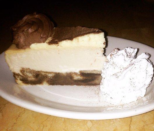 The Cheesecake Factory: Cheesecake de Tiramisù