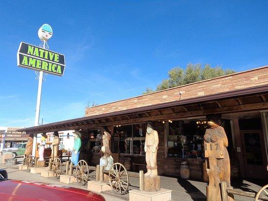 Williams, Αριζόνα: Native American shop. interesting