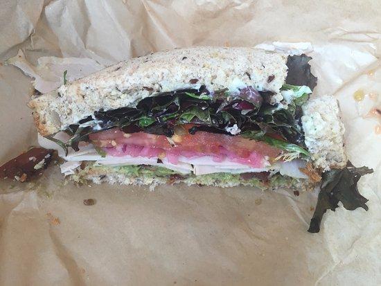 mendocino farms turkey club sandwich