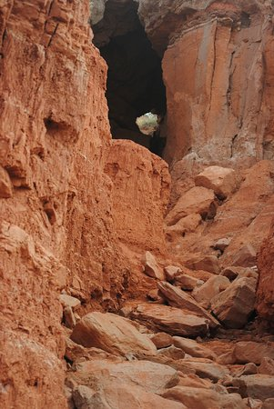 Palo Duro Canyon State Park: Cave at Palo Duro