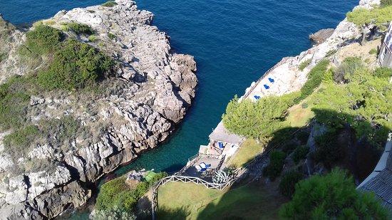 Hotel Delfino : Loved swimming in the hotel's private cove