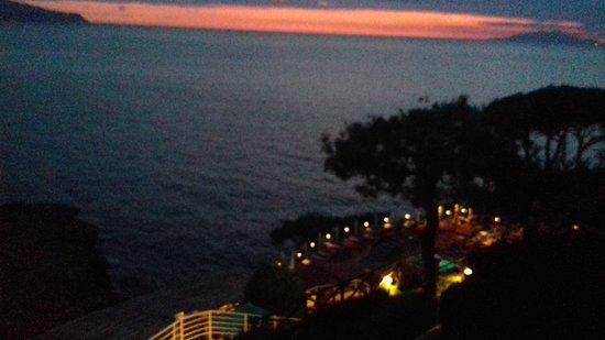 Hotel Delfino : Brilliant sunsets