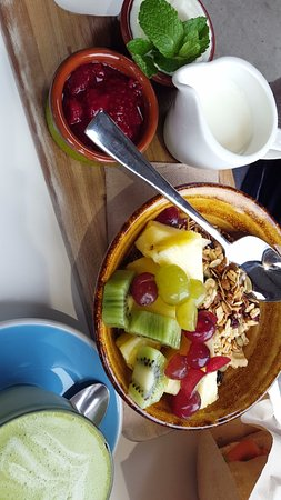 Marlborough, Yeni Zelanda: Muesli Breakfast