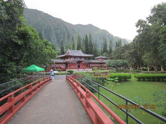 Kaneohe, HI: Entrance to Temple