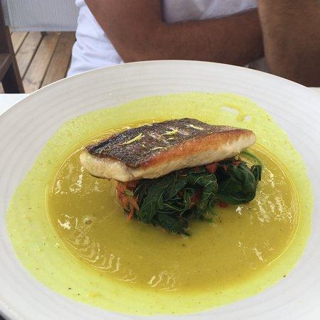Panormos, Grèce : Peixe do meu marido