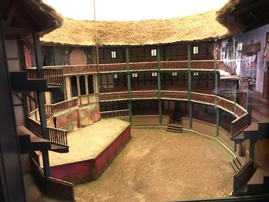 Shakespeare 39 s globe theatre picture of shakespeare 39 s for Theatre model
