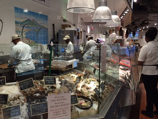 Eataly Seafood Counter Picture Of The Oculus New York