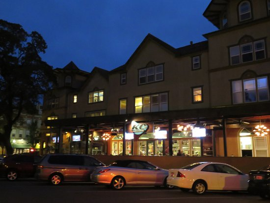 WorldMark Windsor: Downtown Windsor in evening