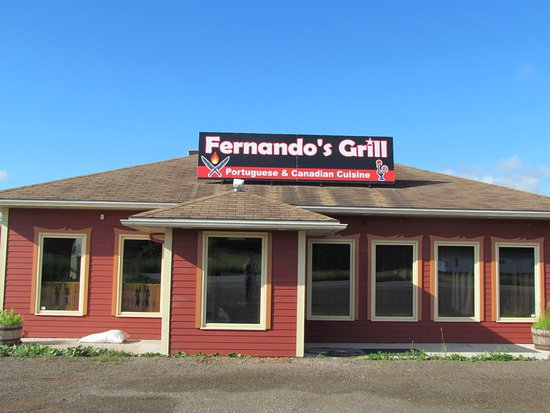 Antigonish, Canada : Portuguese and canadian gastronomy at 4878 Highway 104, lower south river, Exit 35