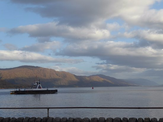 Ardgour, UK: view from room