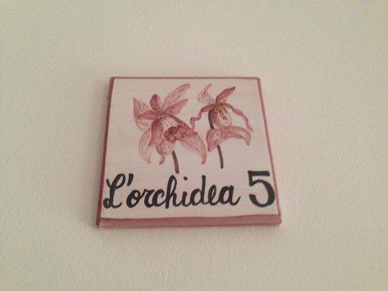 Camere da Ramaccia: Ficamos no quarto L'orchidea 5