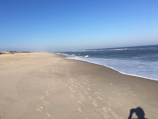Assateague Island National Seashore: Empty Peaceful Beach