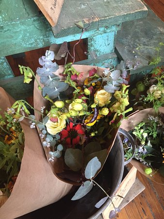Belfast, ME: Nicely mixed bouquets for sale at Chase's