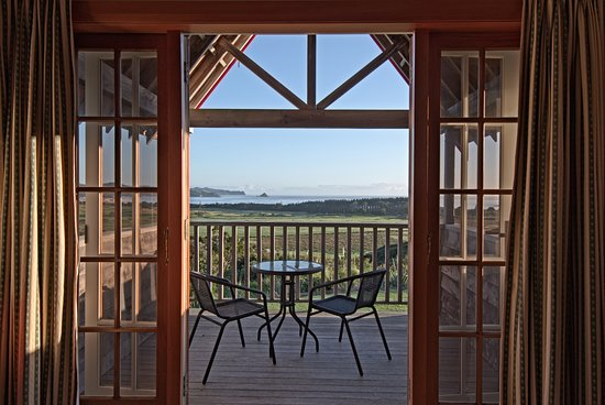 Great Barrier Island, Nueva Zelanda: Private Balconies