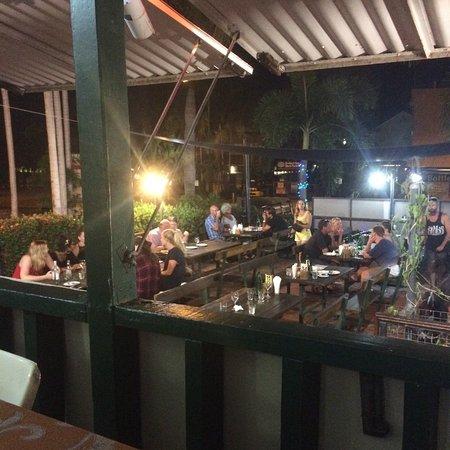 Som Thai Restaurant : View from the verandah