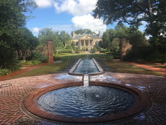 Wonderful Longue Vue House And Gardens: A View Across The Gardens To The  Beauregard Keyes