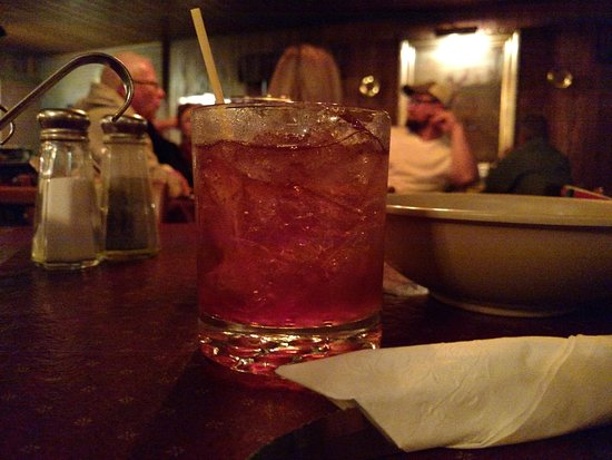 White Stag Inn: A brandy old-fashioned, a Wisconsin favorite.