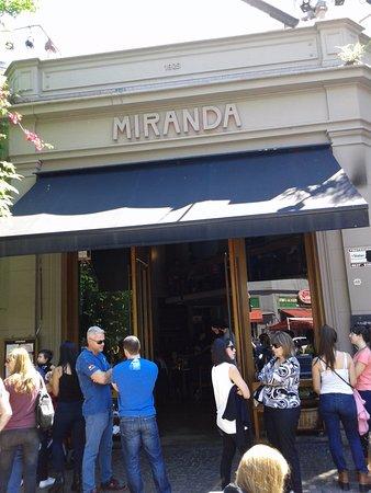 Miranda Restaurante- Entrada Local- Bs.As. 2016.