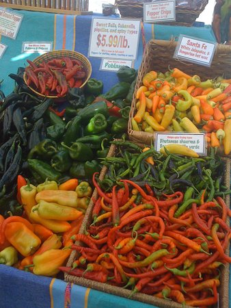 San Rafael, CA: more peppers