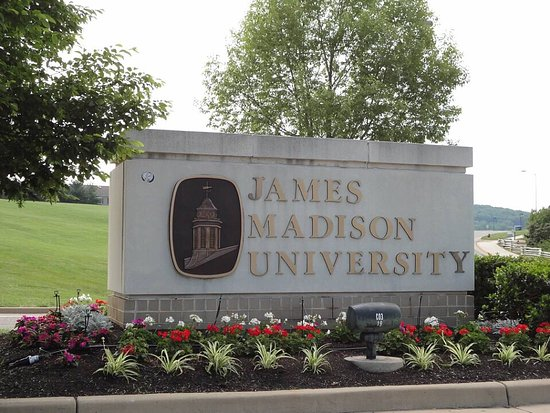 Beautiful Campus Picture of James Madison University Harrisonburg