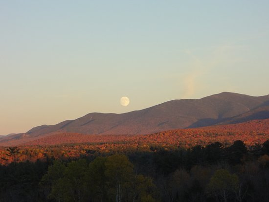 Sugar Hill, NH: View from the patio