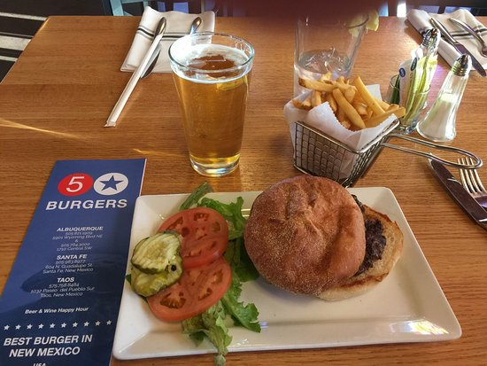 5 star burgers santa fe restaurant reviews phone number photos tripadvisor