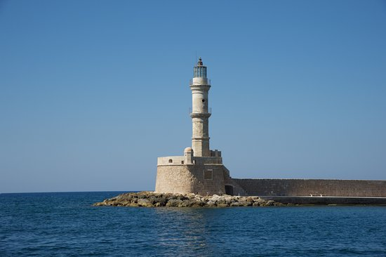 ‪Lighthouse of Chania‬