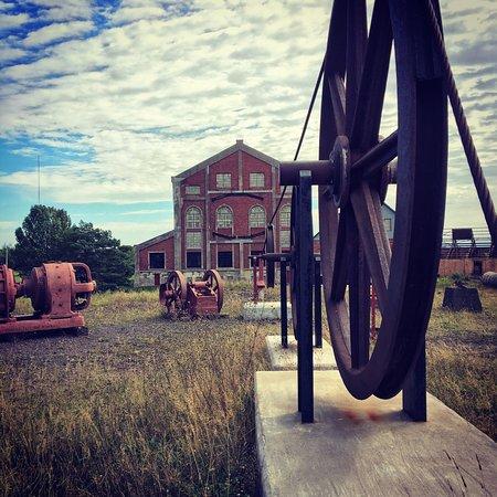 Hancock, MI: Aboveground scenery includes many artifacts of mining's glory days.